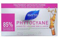 PHYTOCYANE SOIN ANTICHUTE STIMULATEUR DE CROISSANCE PHYTO 12 x 7,5ML à PARIS