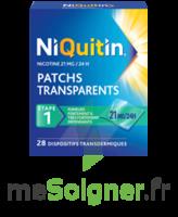NIQUITIN 21 mg/24 heures, dispositif transdermique Sach/28 à PARIS
