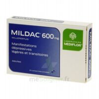 MILDAC 600 mg, comprimé enrobé à PARIS