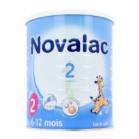 NOVALAC LAIT 2, 6-12 mois BOITE 800G à PARIS