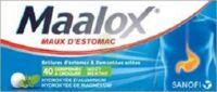 MAALOX HYDROXYDE D'ALUMINIUM/HYDROXYDE DE MAGNESIUM 400 mg/400 mg Cpr à croquer maux d'estomac Plq/40 à PARIS