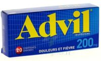 ADVIL 200 mg, 20 comprimés enrobés à PARIS