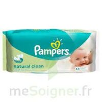 PAMPERS LINGETTES natural clean à PARIS