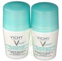 VICHY TRAITEMENT ANTITRANSPIRANT BILLE 48H, fl 50 ml, lot 2 à PARIS