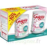 GUIGOZ LAIT EXPERT AR2 LOT DE 2X800GR à PARIS