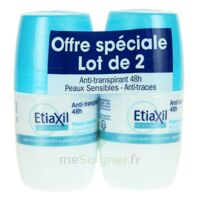 ETIAXIL DEO 48H ROLL-ON LOT 2 à PARIS