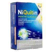 NIQUITIN 2 mg Gom à mâcher médic menthe glaciale sans sucre Plq PVC/PVDC/Alu/30 à PARIS