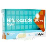 NIFUROXAZIDE MYLAN 200 mg, gélule à PARIS