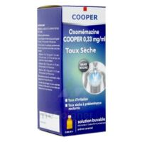 OXOMEMAZINE H3 SANTE 0,33 mg/ml SANS SUCRE, solution buvable édulcorée à l'acésulfame potassique à PARIS