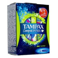 Tampax Compak Pearl Super à PARIS