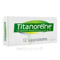 TITANOREINE Suppositoires B/12 à PARIS