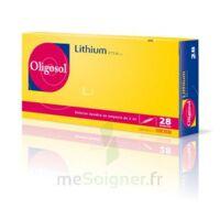 Oligosol Lithium Solution buvable en ampoule ou en récipient unidose 28Amp/2ml à PARIS