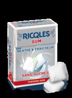 Ricqles Gum Chew gum dragée sans sucre blancheur hygiène B/24g à PARIS